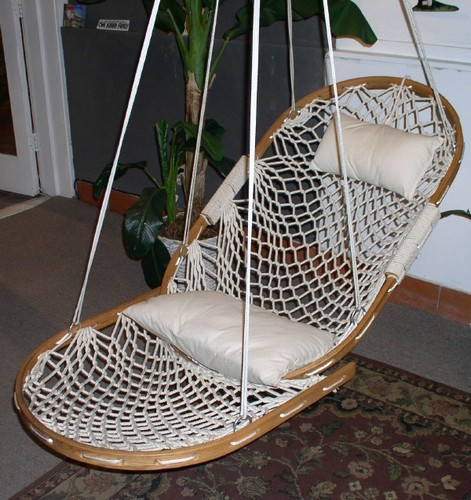 White Crochet Hammock Crochet Toy Net Hammock In White
