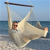 Jumbo Caribbean Hammock Chair Cream
