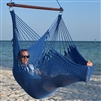 Jumbo Caribbean Hammock Chair Dark Blue