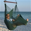 Jumbo Caribbean Hammock Chair Green