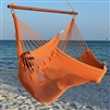 Jumbo Caribbean Hammock Chair Orange