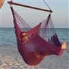 Jumbo Caribbean Hammock Chair Purple