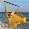Jumbo Caribbean Hammock Chair Yellow