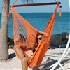 Large Caribbean Hammock Chair (ORANGE)