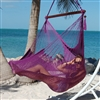 Large Caribbean Hammock Chair (PURPLE)