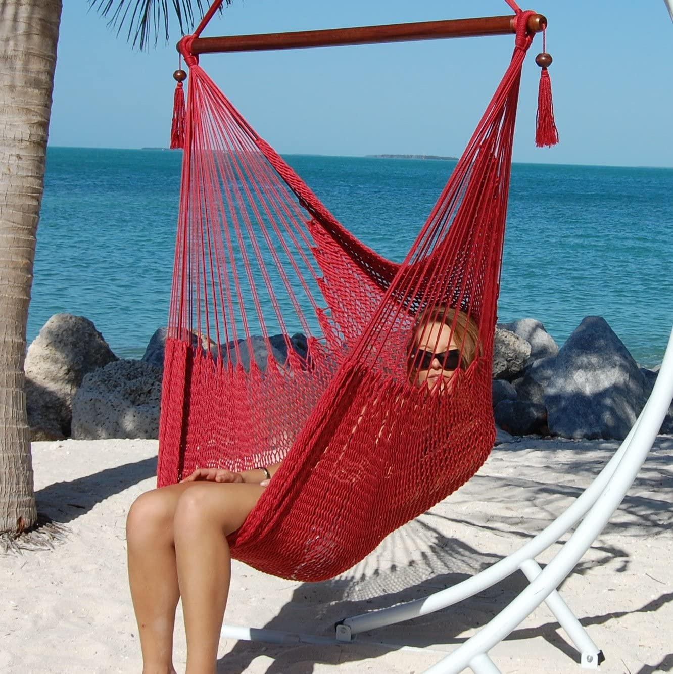 hammocks of caribbean the by large usa chair green store hammock