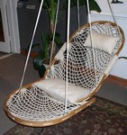 Single Cobble Mountain Swing with Footrest