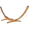 Caribbean Hammocks Wood Arc Hammock Stand Siberian Larch